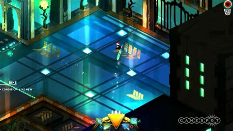 transistor pc gameplay español transistor e3 2013 fight gameplay