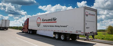 driving at forward air truckload