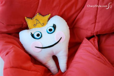 How To Make A Tooth Pillow For Children by Diy Felt Tooth Pillow