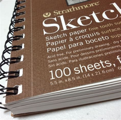 5 5 x 8 sketchbook review strathmore 400 series 100 page 8 5x5 5