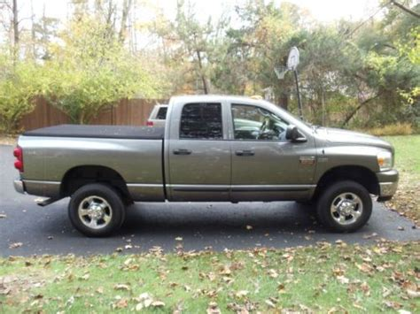 how to fix cars 2007 dodge ram 2500 engine control sell used 2007 dodge ram 2500 slt crew cab pickup 4 door 5 7l in cold spring new york united