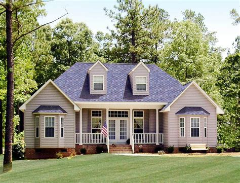 Country House Plan by Affordable Country Home Plan 3837ja Architectural