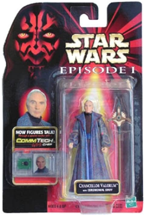 wars costumes and toys wars figure chancellor valorum with ceremonial