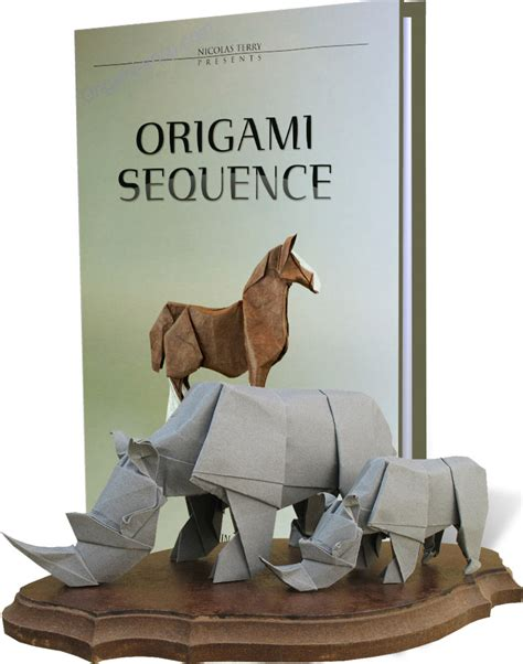 Origami Sequence - free coloring pages 4 origami sequence advanced origami