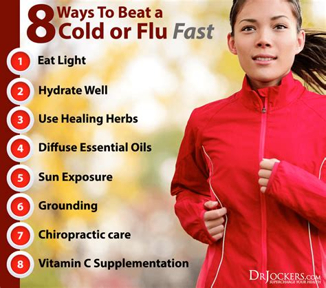 Beat A Healthy by 8 Ways To Beat A Cold Or Flu Fast Drjockers