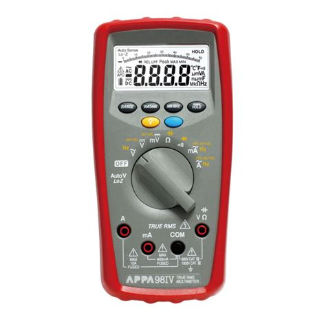 Multimeter Appa appa 90iv series multimeters appa 98iv appa technology corporation