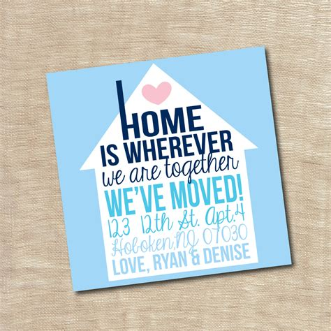 moving home cards template 3 best professional templates