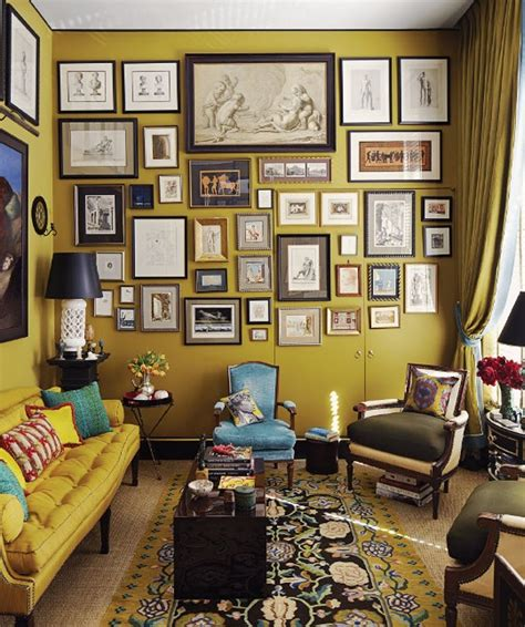 Appartement Therapy by Paint Color Portfolio Mustard Living Rooms Apartment