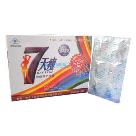 7day Slim discount china wholesale 7 day slim reducing capsules 7 day slim reducing us 18 00