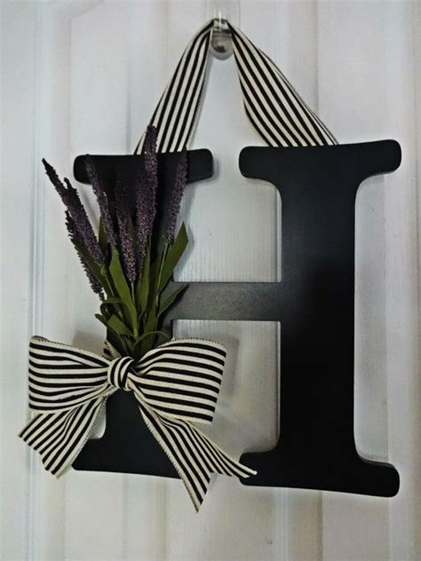 Letter Wreaths For Door by 25 Best Ideas About Front Door Letters On