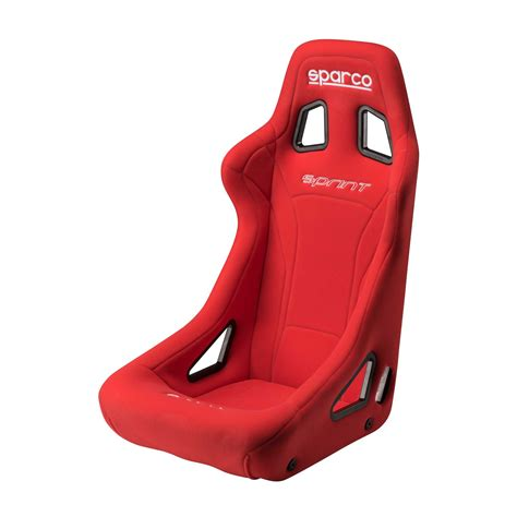 sieges baquet sparco sprint steel frame fia approved race rally