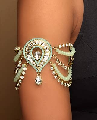 Baju Band Bracelet chicboutique asian bridal armlets the baju band