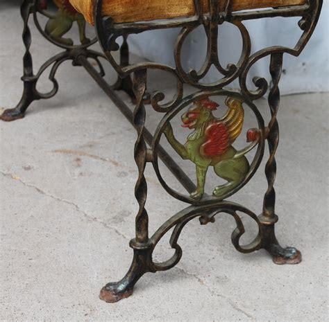 antique cast iron bench ends bargain john s antiques 187 blog archive cast iron fireside
