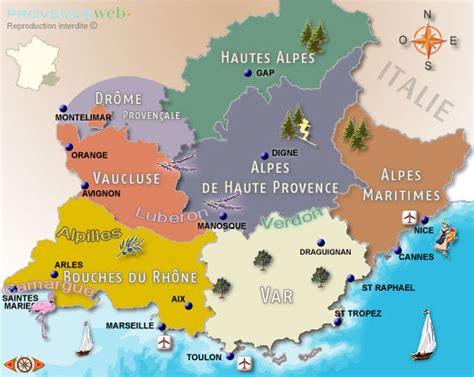 Shopping Sites For Home Decor by Cartes De Provence Et C 244 Te D Azur Provence Web