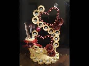 How To Make Showpiece With Paper - best out of waste paper showpiece pen holder
