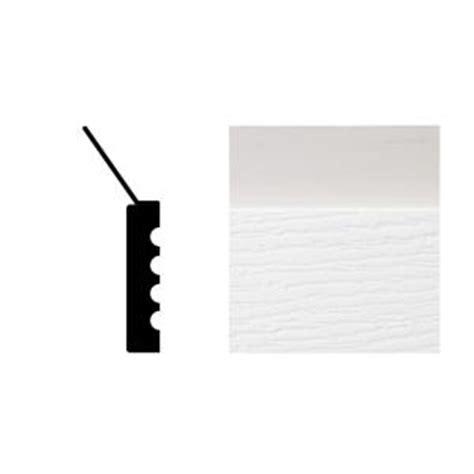2149 7 16 in x 2 in x 7 ft pvc composite white garage