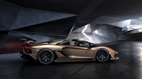 2020 Lamborghini Svj by 2020 Lamborghini Aventador Svj Roadster Wallpapers Hd