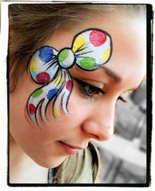 Printable Cheek Art Designs ditzy doodles donated her time to children in need and