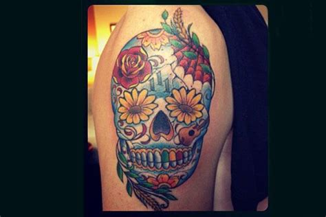 kendall tattoo kendall schmidt s day of the dead