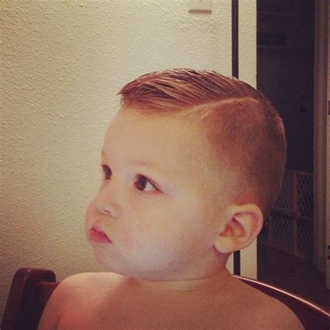 little boy hard part cut high fade pomp over hard part baby pinterest