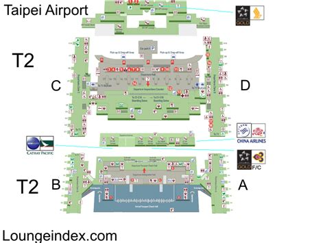 Incheon Airport Floor Plan by Tpe Taipei Airport Guide Terminal Map Airport Guide