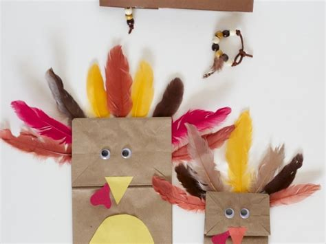 Thanksgiving Paper Bag Crafts - 30 thanksgiving turkeys crafts for your own busy gobblers