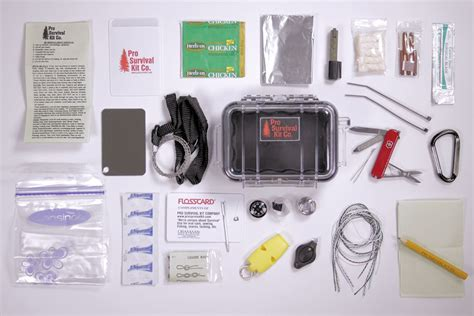 Basic Professional Survival Pocket Kit 10 things to in your pockets for survival outlive the outbreak