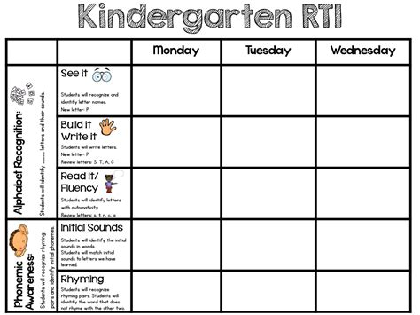 rti section 8 sarah s first grade snippets rti in kindergarten abc and