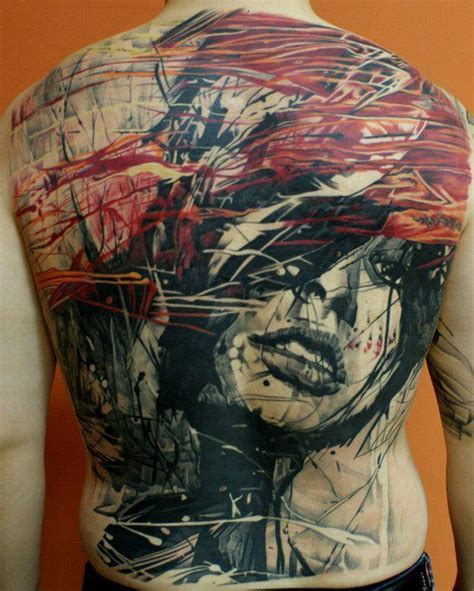 full back tattoos ideas