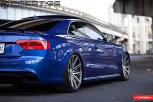 vossen vvs cv4 wheels on audi rs5 prestige wheel centre news