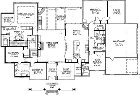 monster house floor plans monster house plan home design 2017