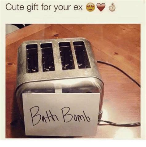 christmas present for your ex gift for your ex meme on sizzle