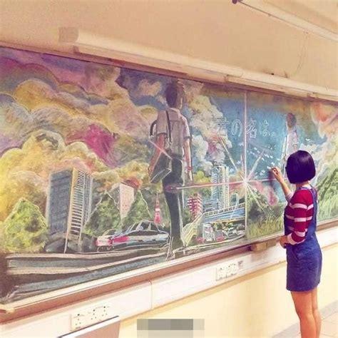 chalk paint hong kong hong kong students create amazing chalkboard