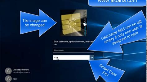 Smart Search Login Windows 10 Smartcard Logon With Aloaha Smart Login