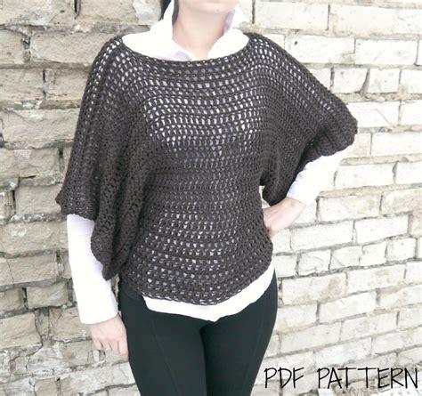 oversized jumper pattern adult oversized fit sweater crochet pattern by