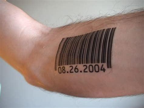 barcode tattoos for men barcode tattoos and designs page 78