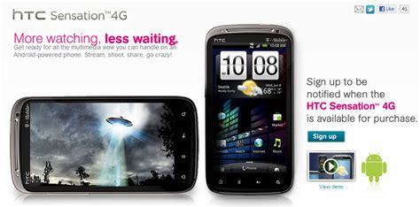 sign in mobile site htc sensation sign up page now live on t mobile website