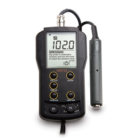 hi8733 multi range ec meter instruments