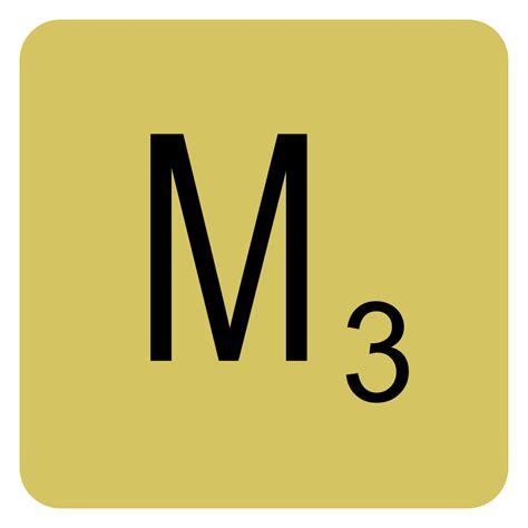 File:Scrabble letter M.svg - Wikimedia Commons M