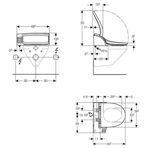 wc duschfunktion geberit aquaclean 5000plus aufsatz mit fu 223 schalter f 252 r