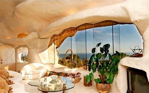 clark flintstone house photos clark s epic bedrock style cave house in malibu