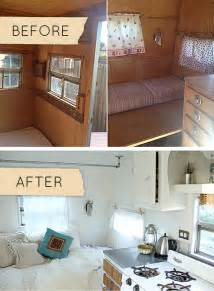 Camper Makeover by Gallery For Gt Travel Trailer Remodel Before And After