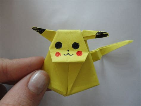 How To Make A Paper Pikachu - easy origami pikachu driverlayer search engine