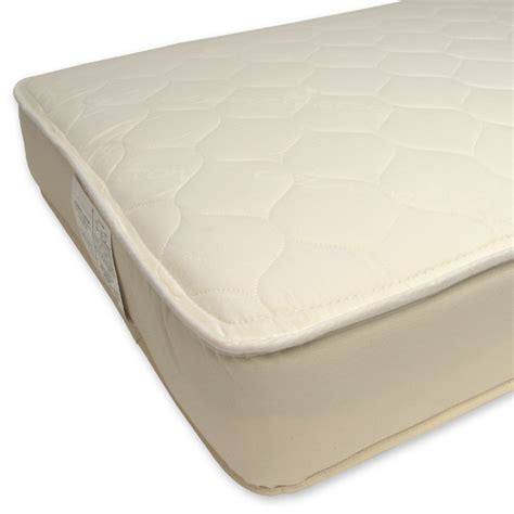 Naturepedic Organic Cotton Quilted Deluxe 2 In 1 Ultra Naturepedic Crib Mattress
