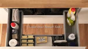 Kitchen Runners by Under Sink Storage Drawer From Howdens Joinery Youtube
