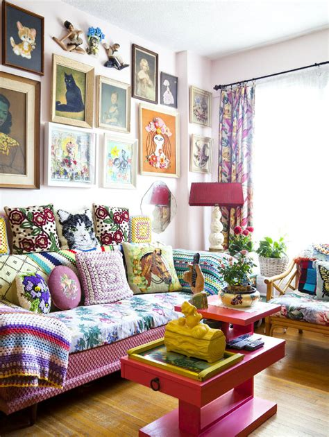 bright home decor bright bohemian home decorating diy