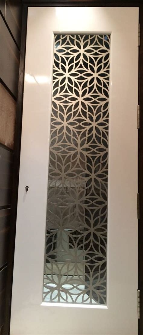 custom  laser cut grill  main door  ms