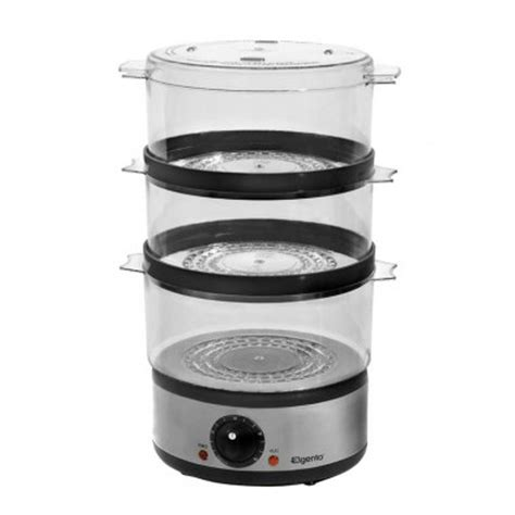 kitchen steamer appliance elgento 3 tier steamer unique home living