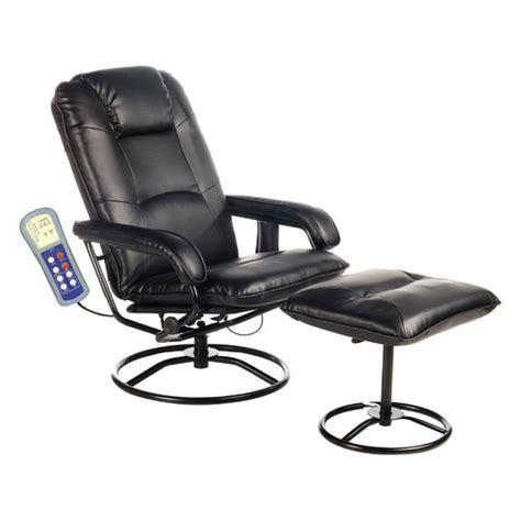 massage chair with ottoman comfort products leisure heated reclining massage chair
