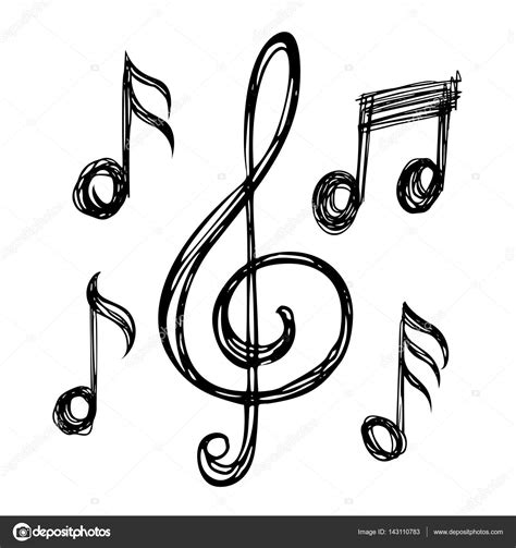 imagenes musicales dibujos notas musicales pictures to pin on pinterest